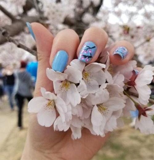 Cherry-Blossom-Spring-Nails-Art-Designs-Ideas-2020-17