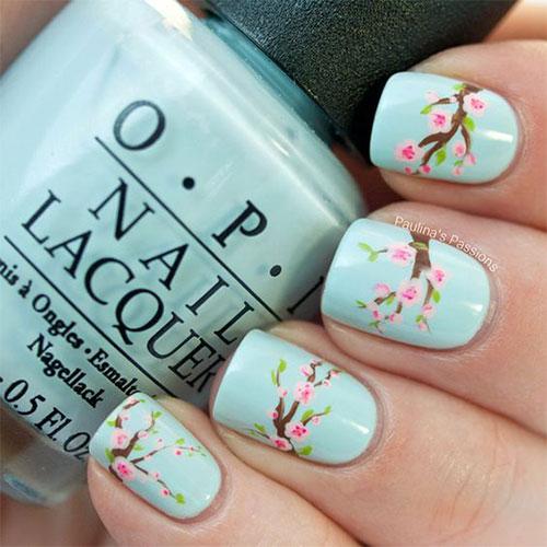 Cherry-Blossom-Spring-Nails-Art-Designs-Ideas-2020-18