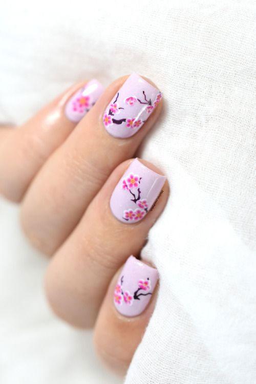Cherry-Blossom-Spring-Nails-Art-Designs-Ideas-2020-22