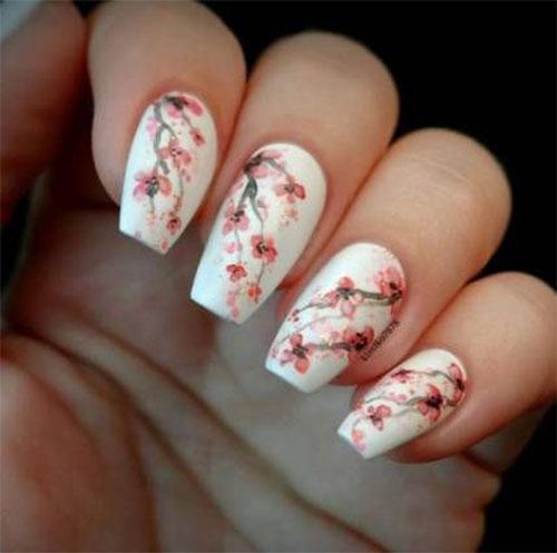 Cherry-Blossom-Spring-Nails-Art-Designs-Ideas-2020-4