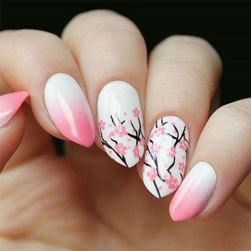 Cherry-Blossom-Spring-Nails-Art-Designs-Ideas-2020-7