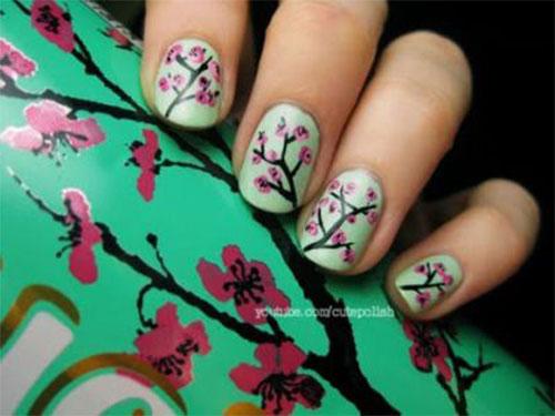 Cherry-Blossom-Spring-Nails-Art-Designs-Ideas-2020-9