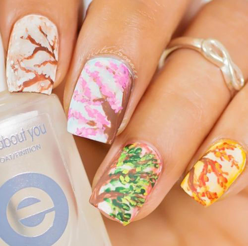Simple-Easy-Spring-Nails-Art-Designs-2020-3