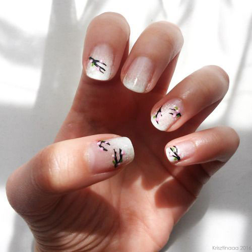 Simple-Easy-Spring-Nails-Art-Designs-2020-7
