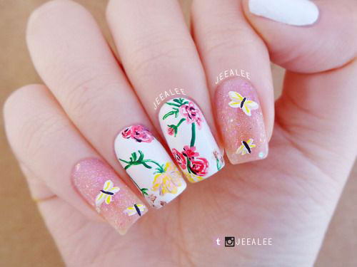 Spring-Floral-Nails-Art-Ideas-2020-13