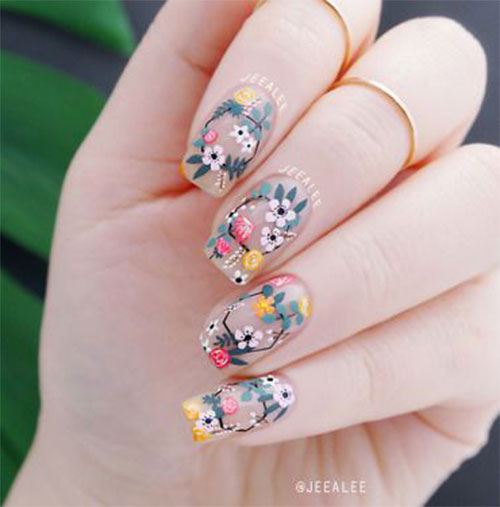 Spring-Floral-Nails-Art-Ideas-2020-15