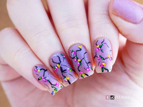 Spring-Floral-Nails-Art-Ideas-2020-2