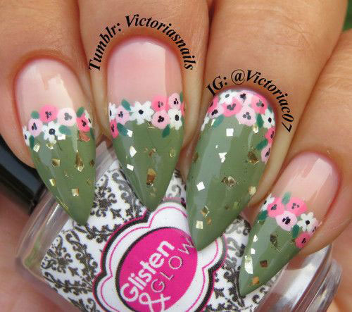 Spring-Floral-Nails-Art-Ideas-2020-4