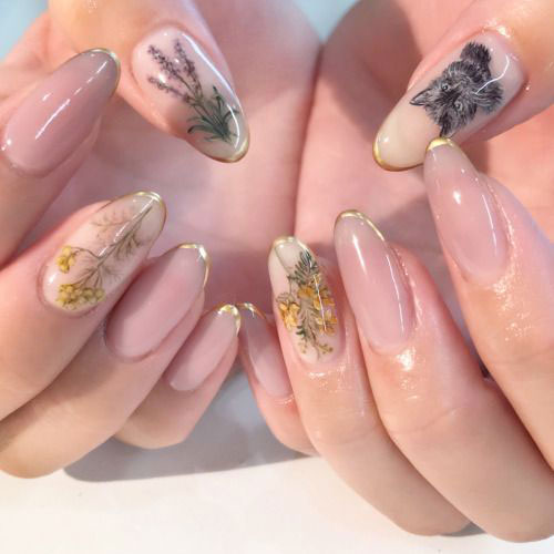 Spring-Floral-Nails-Art-Ideas-2020-5