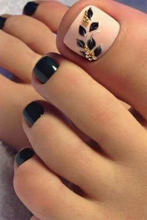 Spring-Toe-Nails-Art-Designs-Ideas-2020-9
