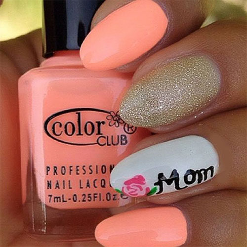 Best-Mother's-Day-Nails-Art Designs & Ideas 2020-12