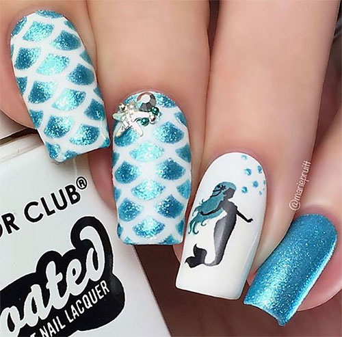 Best-Mother's-Day-Nails-Art Designs & Ideas 2020-18