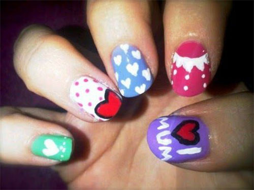 Best-Mother's-Day-Nails-Art Designs & Ideas 2020-7