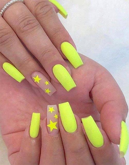 Neon-Summer-Nails-Art-Designs-2020-1