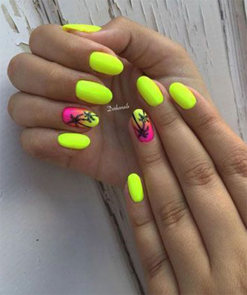Neon-Summer-Nails-Art-Designs-2020-2