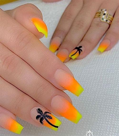 Neon-Summer-Nails-Art-Designs-2020-4