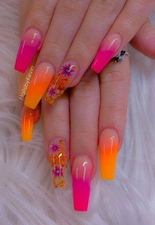 Neon-Summer-Nails-Art-Designs-2020-5