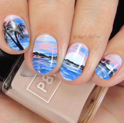 Summer-Beach-Nails-Art-Designs-Ideas-2020-1