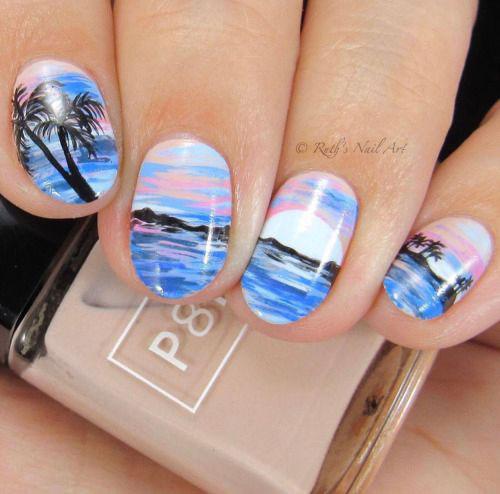 Summer-Beach-Nails-Art-Designs-Ideas-2020-1