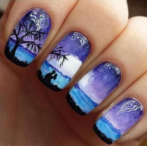 Summer-Beach-Nails-Art-Designs-Ideas-2020-10