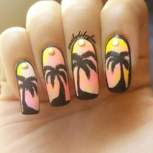 Summer-Beach-Nails-Art-Designs-Ideas-2020-14