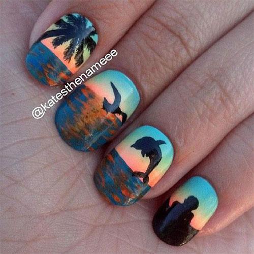 Summer-Beach-Nails-Art-Designs-Ideas-2020-15