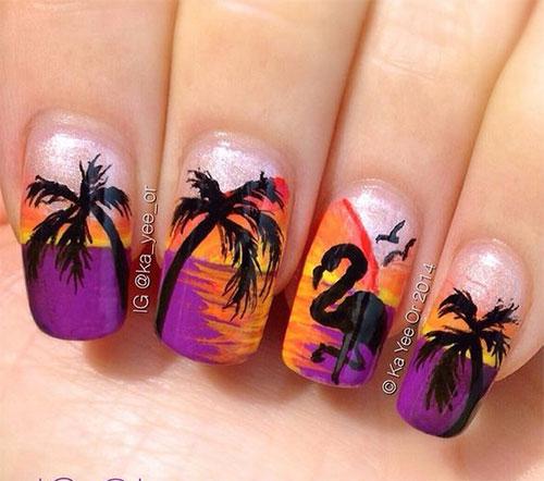 Summer-Beach-Nails-Art-Designs-Ideas-2020-2