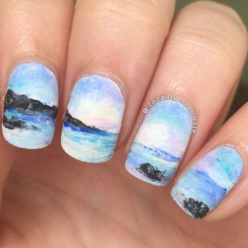 Summer-Beach-Nails-Art-Designs-Ideas-2020-7