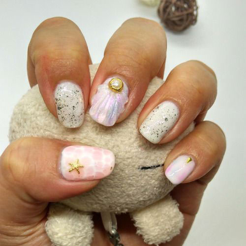 Summer-Beach-Nails-Art-Designs-Ideas-2020-8