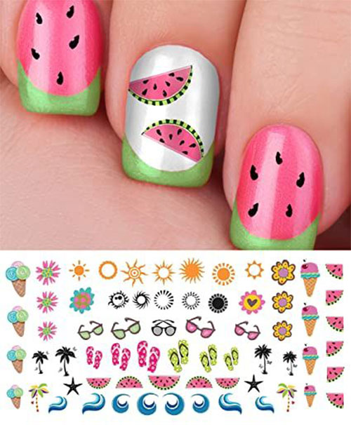 Summer-Nail-Art-Tutorials-For-Beginners-2020-1