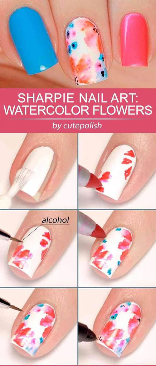 Summer-Nail-Art-Tutorials-For-Beginners-2020-11