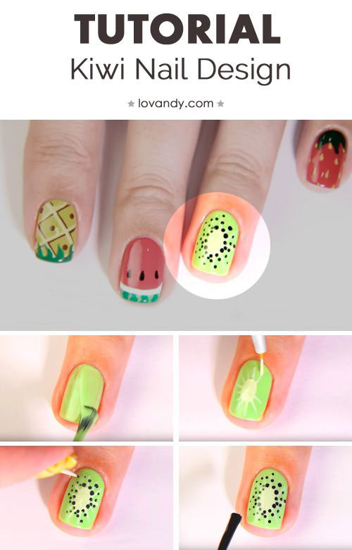 Summer-Nail-Art-Tutorials-For-Beginners-2020-13