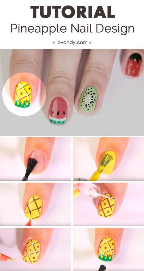 Summer-Nail-Art-Tutorials-For-Beginners-2020-5