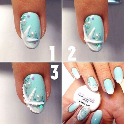 Summer-Nail-Art-Tutorials-For-Beginners-2020-9
