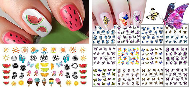 Summer-Nail-Art-Tutorials-For-Beginners-2020-F