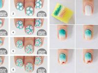 Summer-Nail-Art-Tutorials-For-Beginners-2020-F