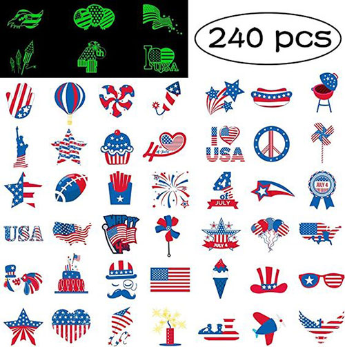 4th-of-July-Nails-Art- Stickers-Decals-2020-10
