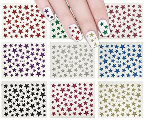4th-of-July-Nails-Art- Stickers-Decals-2020-11