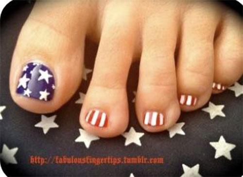 4th-of-July-Toe-Nails-Art-Designs-2020-1