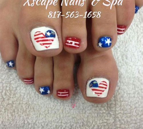 4th-of-July-Toe-Nails-Art-Designs-2020-10