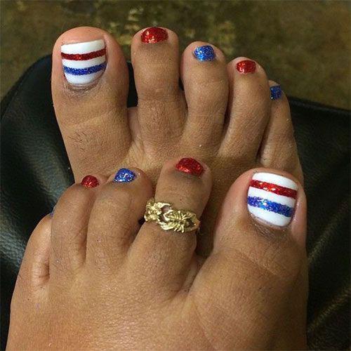 4th-of-July-Toe-Nails-Art-Designs-2020-11