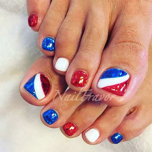 4th-of-July-Toe-Nails-Art-Designs-2020-2