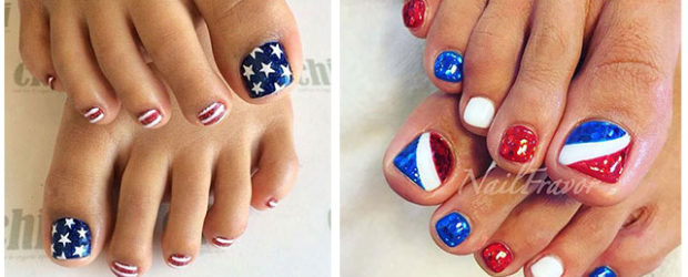 4th-of-July-Toe-Nails-Art-Designs-2020-F