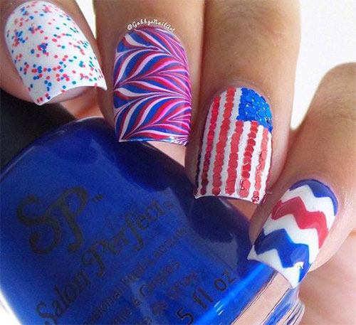 American-Flag-Nail-Art-Ideas-2020-4th-of-July-Nails-13