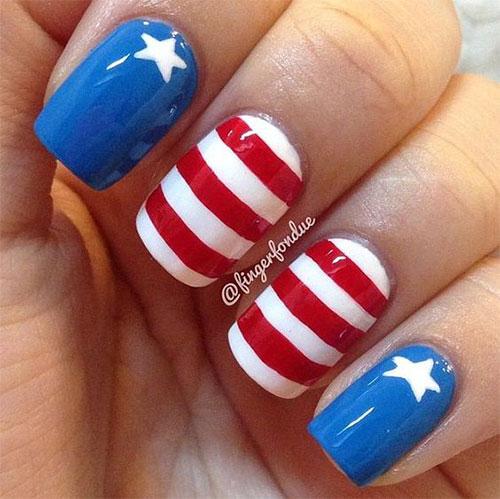 American-Flag-Nail-Art-Ideas-2020-4th-of-July-Nails-3