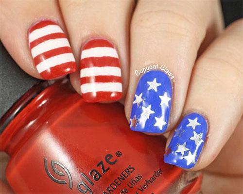 American-Flag-Nail-Art-Ideas-2020-4th-of-July-Nails-4