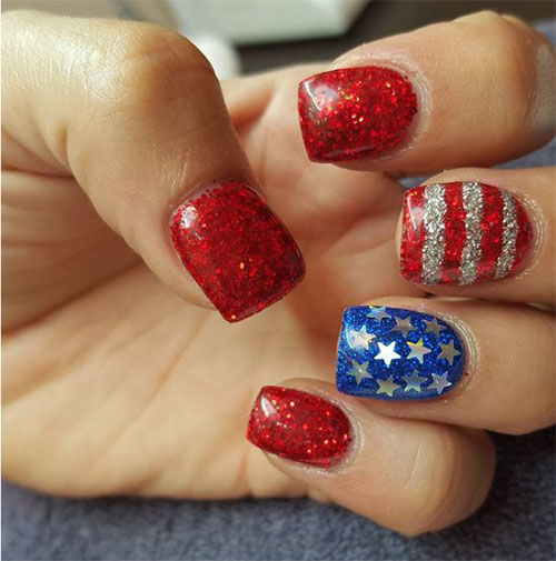 American-Flag-Nail-Art-Ideas-2020-4th-of-July-Nails-5