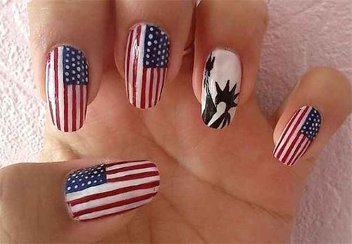 American-Flag-Nail-Art-Ideas-2020-4th-of-July-Nails-8