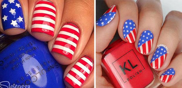 American Flag Nail Art Ideas 2020 | 4th of July Nails