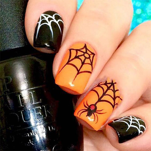 Easy-Simple-Halloween-Nail-Art-For-Beginners-2020-6